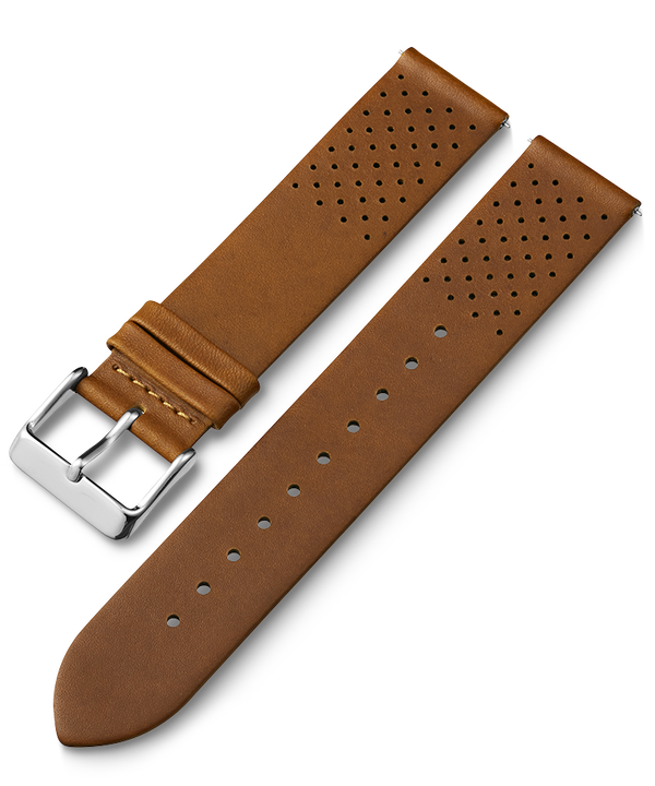 20mm Quick Release Leather Strap with Perforations  large