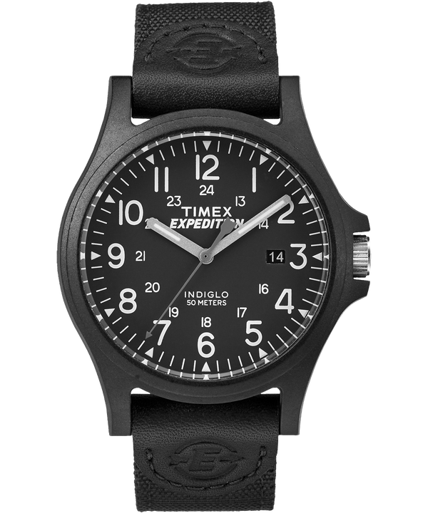 Expedition Metal Field with Compass 40mm Fabric Strap Watch  large