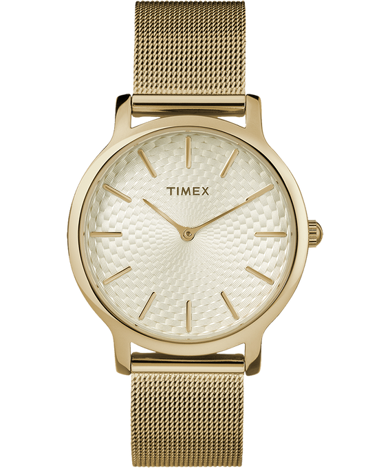 Metropolitan 34mm Stainless Steel Watch Gold-Tone large
