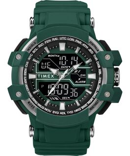 Tactic DGTL 50MM Resin Strap Combo Watch Green/Gray large