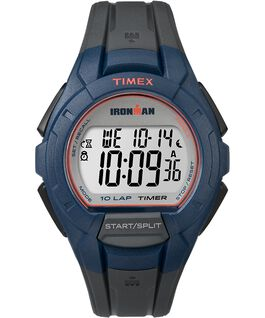 IRONMAN 10 Lap Full Size Resin Strap Black/Gray/Red large