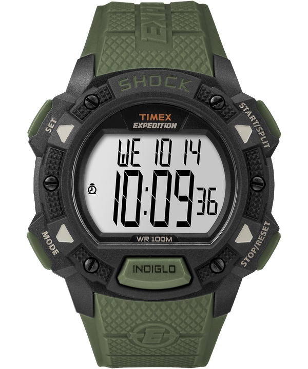 Expedition Base Shock 45mm Resin Strap Watch  large
