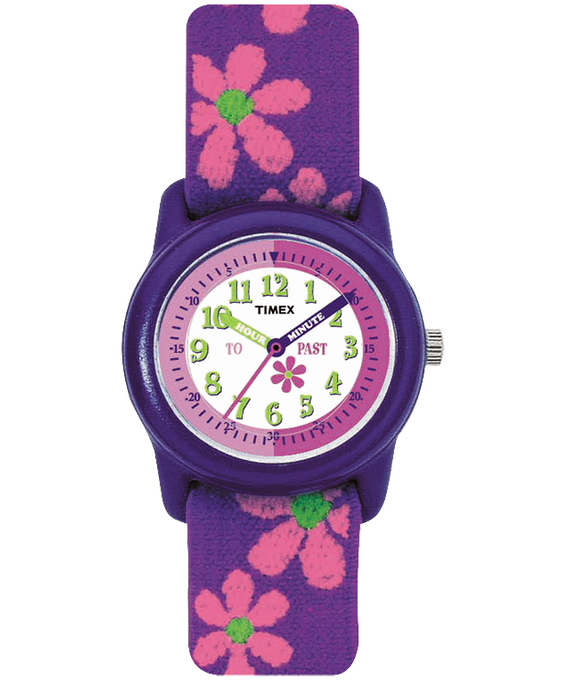 Girls Kids Analog 29mm Elastic Fabric Watch  large
