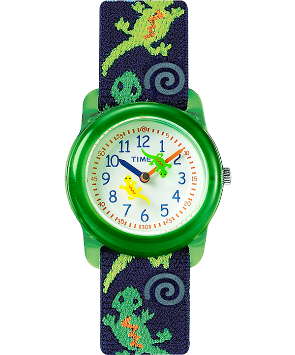 Kids Analog 29mm Elastic Patterned Fabric Watch  large