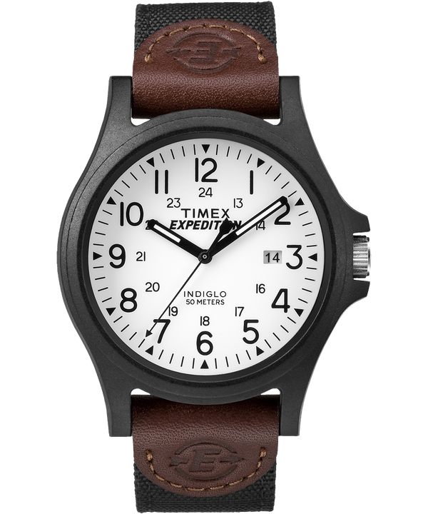 Expedition Metal Field 40mm Fabric Strap Watch  large