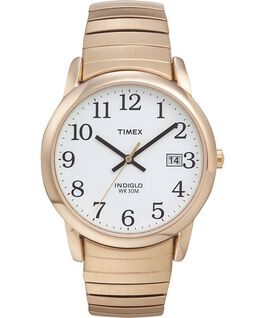 Easy Reader 35mm Stainless Steel Watch with Date Gold-Tone/White large