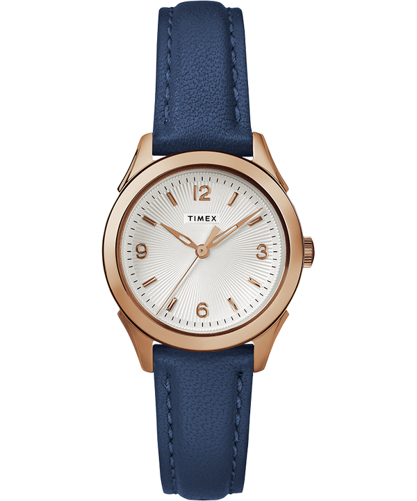 Torrington Womens 3-Hand 27mm Leather Strap Watch  large
