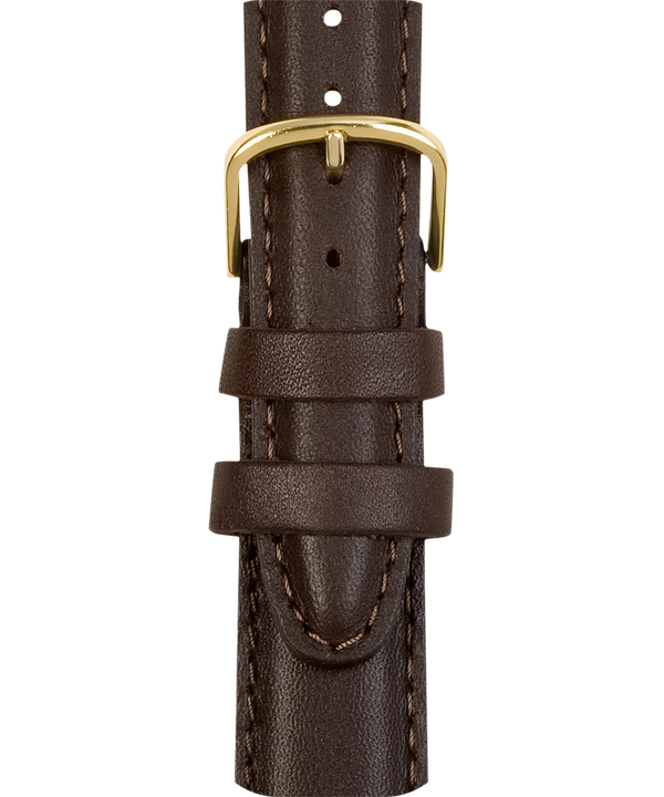 18mm Mens Leather Strap  large