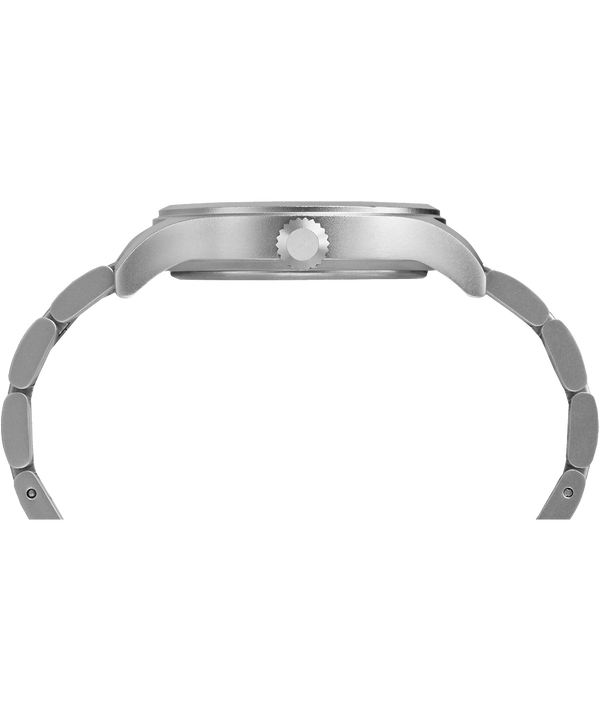 Allied 40mm Bracelet Watch Silver-Tone/White large