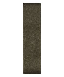 Olive Leather Slip-thru Strap  large