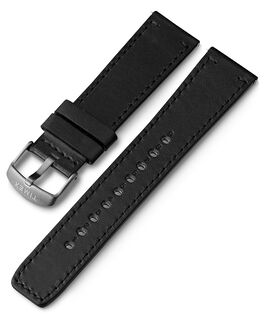 22mm Quick Release Leather Strap 1 Gray large