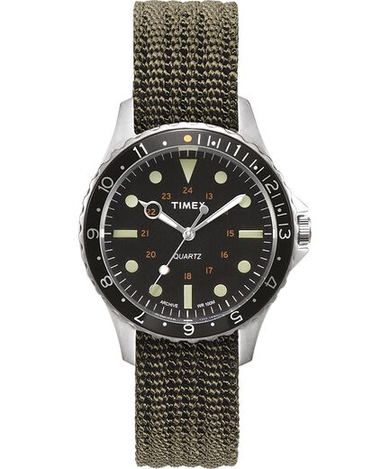 dab024d54 Navi Harbor 38mm Fabric Strap Watch Olive/Olive large