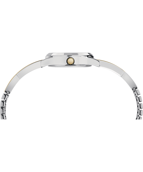 Fashion Stretch Bangle 25mm Expansion Band Watch Chrome/Two-Tone/Silver-Tone large