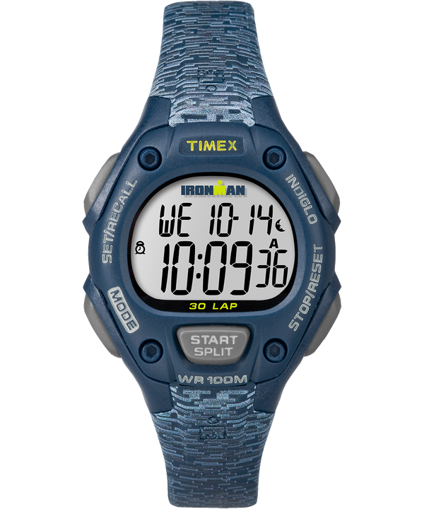 IRONMAN Classic 30 Mid-Size 34mm Patterned Resin Strap Watch  large