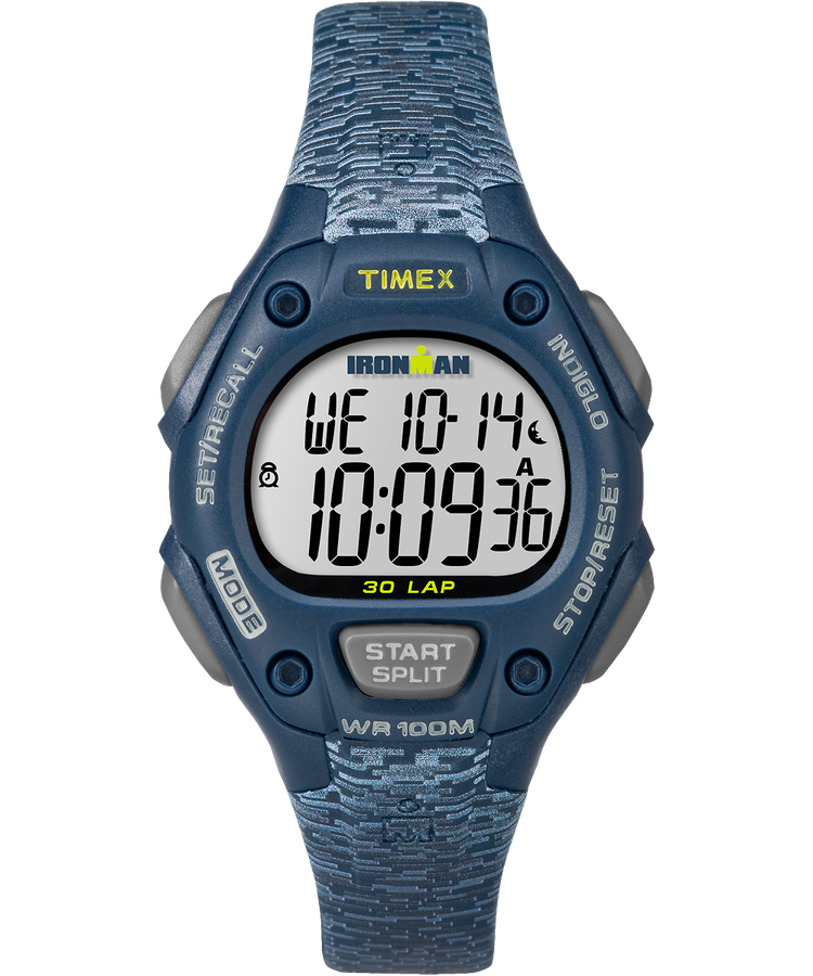 Ironman Classic 30 Mid Size 34mm Resin Strap Watch Timex