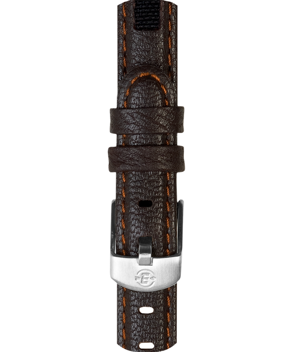 12mm Leather Strap Brown large