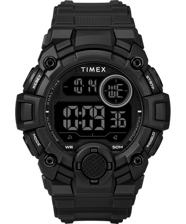 A Game DGTL 50mm Silicone Strap Digital Watch  large