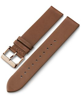 20mm Quick Release Leather Strap 1 Tan large
