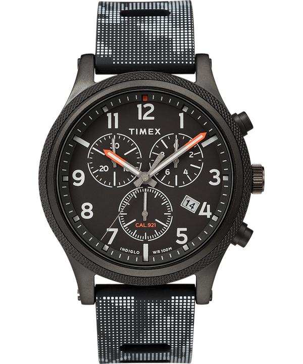 Allied LT Chronograph 42mm Silicone Strap Watch  large