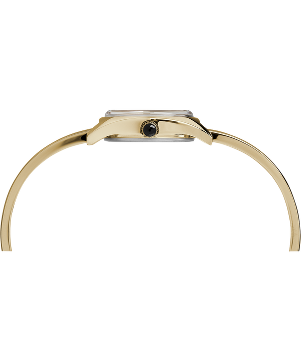 Milano Semi-Bangle 24mm Watch Gold-Tone/White large