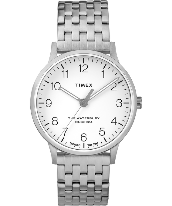 Waterbury 36mm Classic Stainless Steel  Strap Watch