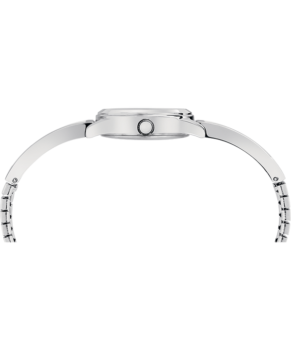 Fashion Stretch Bangle 25mm Expansion Band Watch Silver-Tone large