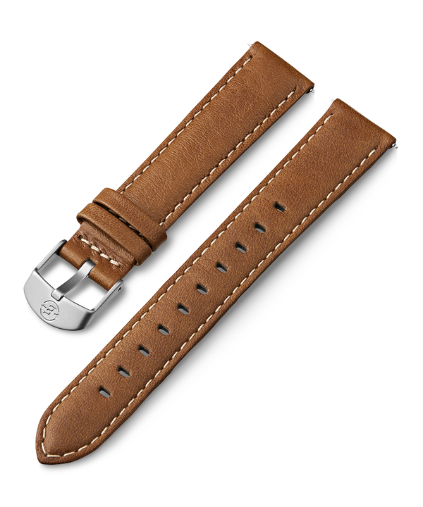 18mm Leather Strap Tan large