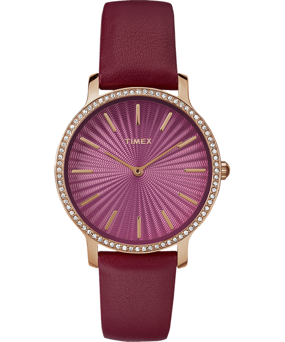 Metropolitan Starlight 34mm Leather Watch