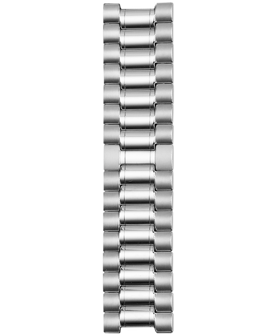 18mm Stainless Steel Strap Silver-Tone large