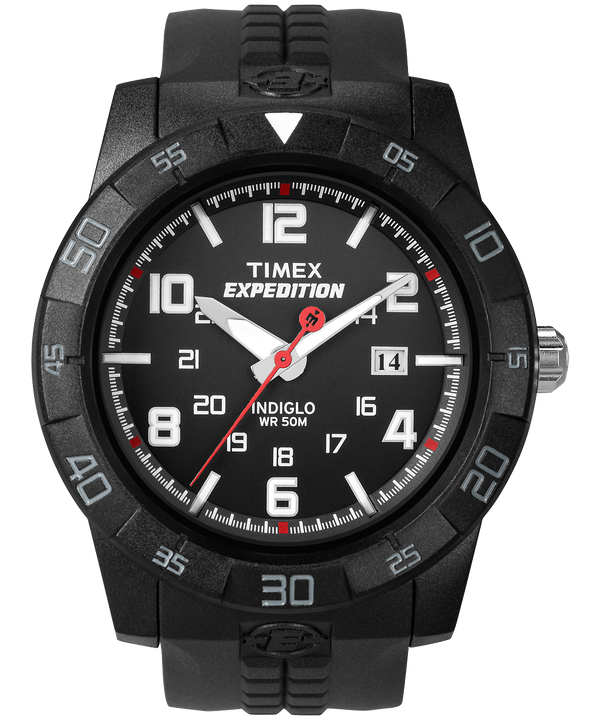 Expedition Rugged Core Analog 43mm Resin Strap Watch Black large