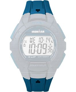 Replacement 18mm Resin Strap for Ironman Essential 10 Full-Size Blue large