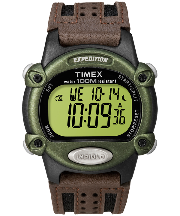Expedition 39mm Nylon Strap Watch Black/Brown/Green large