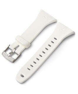 Ironman GPS Resin Replacement Strap White large