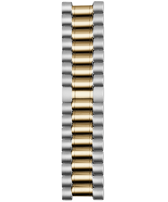 18mm Two Tone Stainless Steel Strap  large