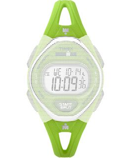 Replacement 14mm Silicone Strap for IRONMAN Sleek 50 Mid-Size Green large