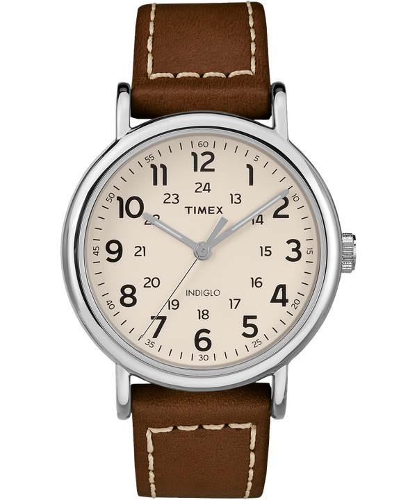 Weekender 2 Piece 40mm Leather Watch  large