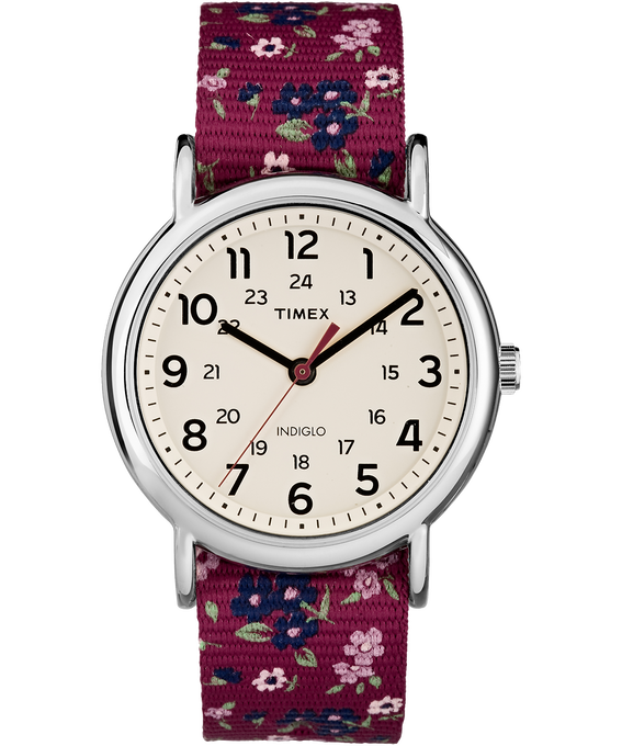 Weekender Patterns 38mm Nylon Strap Watch  large