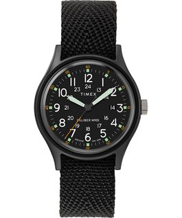 MK1 40mm Fabric Strap Watch Black/Black large