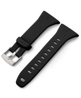 Ironman GPS Resin Replacement Strap Black large