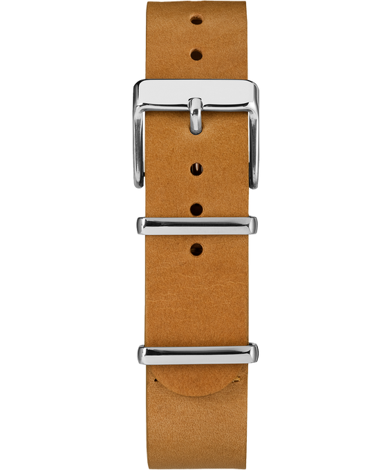 20mm Slip Thru Leather Strap 2  large