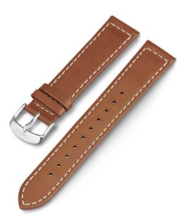 20mm Tan Leather Replacement Strap Tan large