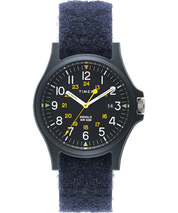 Acadia 40mm Velcro Strap Watch  large