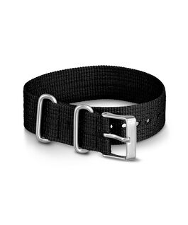 20mm Nylon Strap Black large