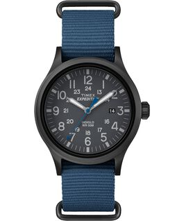 Expedition Scout 40mm Nylon Watch Black/Blue large