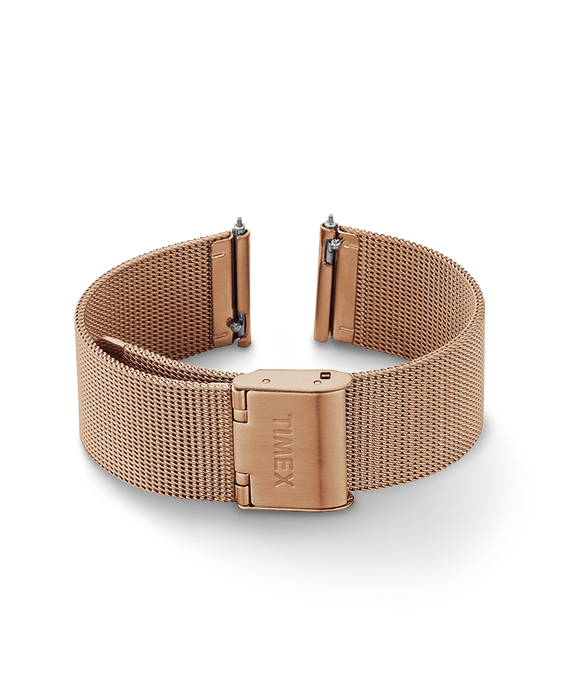 18mm Quick Release Mesh Band Rose-Gold-Tone large