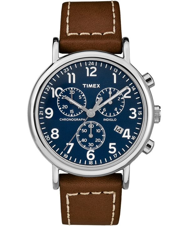 Weekender Chrono 2 Piece 40mm Leather Watch  large