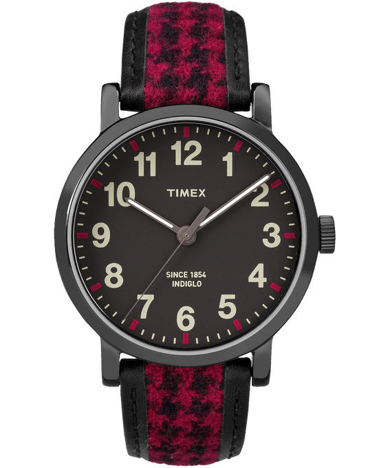 Original Houndstooth 40mm Watch Black/Red large