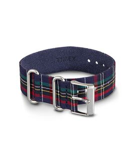 Plaid Replacement Strap Blue large