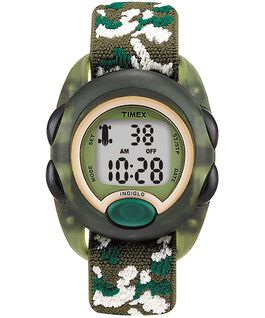 Kids Digital Watch with Nylon Strap Green large