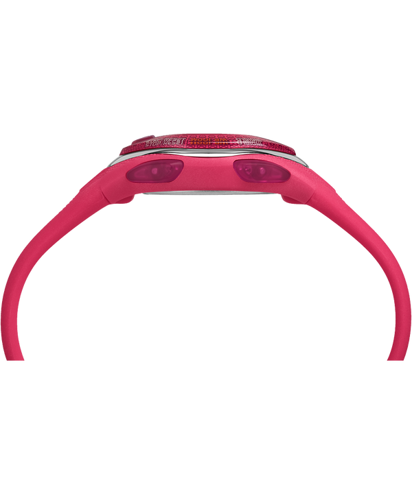 IRONMAN Sleek 50 Mid-Size Silicone Strap Watch Pink large